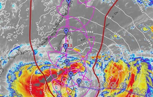 丹娜絲最快11點陸警!週三到週六「降雨熱區+路徑」出爐 圖翻攝自氣象主播賴忠瑋臉書