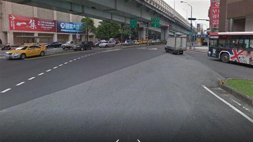 台北,基隆路,騎士,車禍(圖/翻攝google)