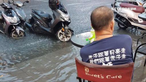 水退很快?韓國瑜強調「清淤有效」忽略淹水