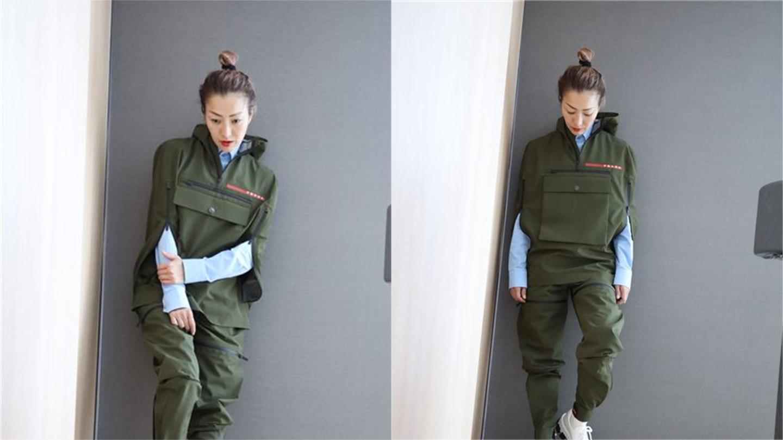鄭秀文來台!一身「軍綠潮裝」親切幫粉絲簽名