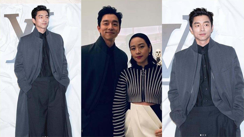 孔劉穿長版大衣簡直《鬼怪》上身!
