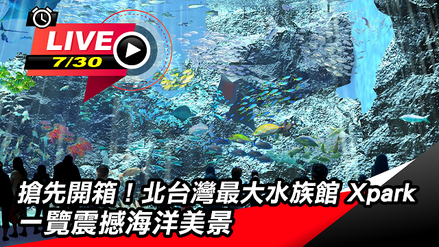 搶先開箱!北台灣最大水族館 Xpark