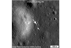 中國嫦娥號與美國玉兔 圖片來源:翻攝自NASA