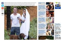 英演員托馬斯‧安德魯‧費爾頓被拍到頹廢樣 圖片擷取自每日郵報