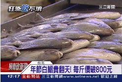 春節魚價漲1200