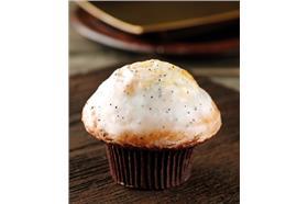 星巴克販售的低脂檸檬罌粟籽鬆餅(Skinny Lemon & Poppyseed Muffin)。(圖/翻攝自英國星巴克官網)