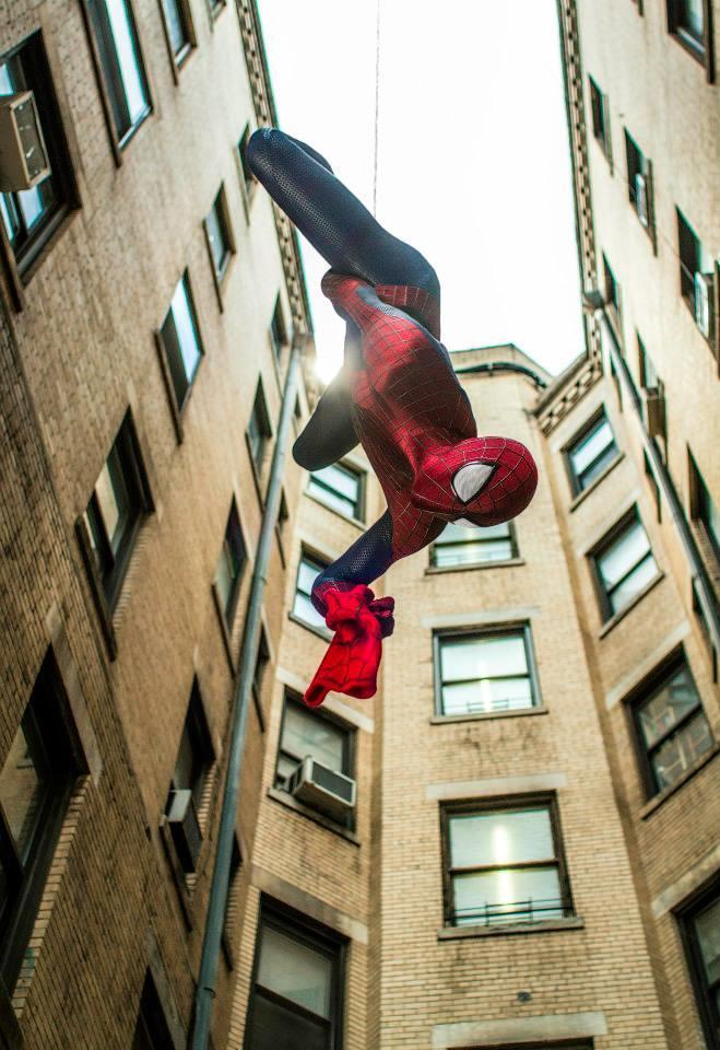 蜘蛛人_翻攝自The Amazing Spider-Man 蜘蛛俠臉書