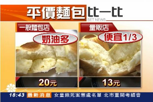 """""""以量制價""""超俗! 麵包8個只要99元"""