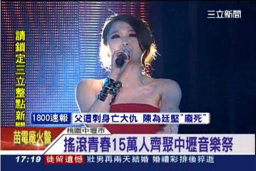 2014中壢搖滾音樂祭 火熱登場