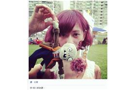 名家-卡卡洛普-簡拉娜(LANA)活屍界正妹(圖片來源:LANA臉書/粉絲團/instagram)