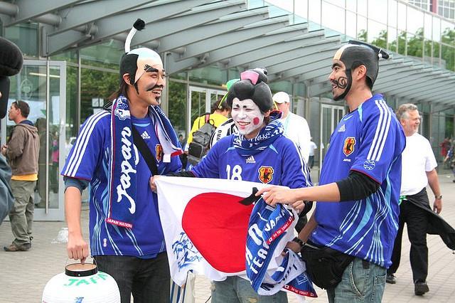 世足賽日本球迷-flickr-Otjep