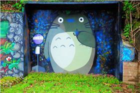 龍貓公車亭(一哥的玩遍全台灣)
