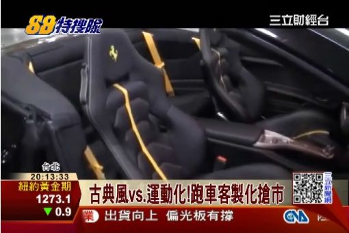 門檻刻國旗 德跑車推客製化限量版!|三立財經台