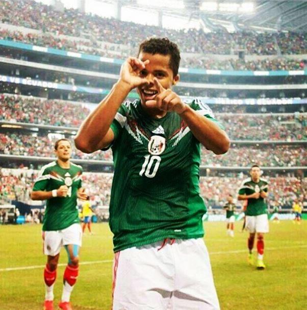 墨西哥足球隊員-多斯桑托斯 Giovani Dos Santos(圖/翻攝自Oficial Giovani Dos Santos粉絲團)