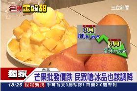 芒果跌漲價1800