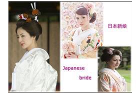 日本新娘/pinterest