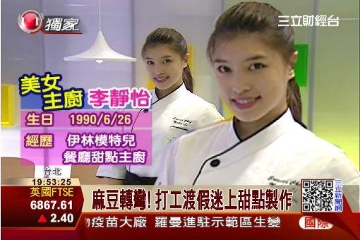 麻豆轉戰甜點界 化身美女甜點主廚