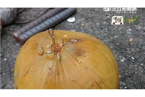 椰子殼放緄