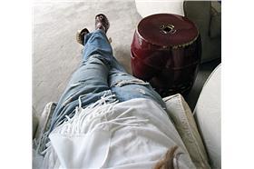 牛仔褲婦女-flickr-Maegan Tintari