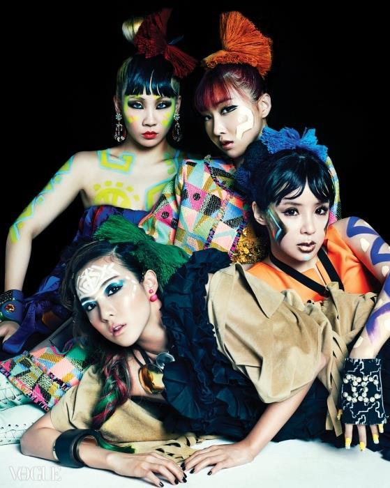 2NE1(圖/VOGUE)