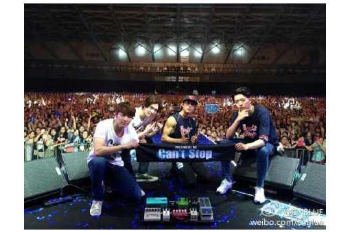 CNBLUE2014演唱會-圖/CNBLUE官方微博