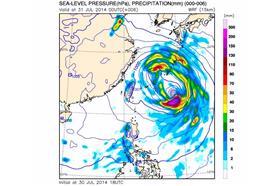 娜克莉颱風、雙胞胎 - 圖/鄭明典臉書