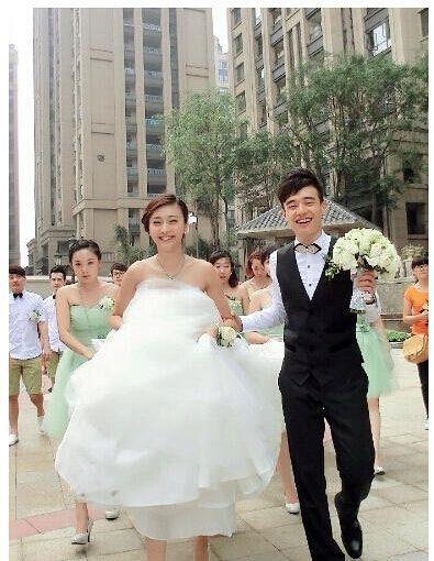 陳冰結婚(新華網)
