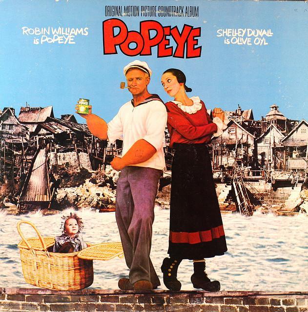 Popeye大力水手/flickr