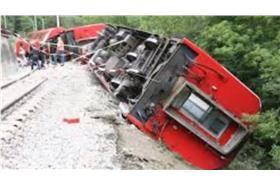 瑞士火車出軌-youtube