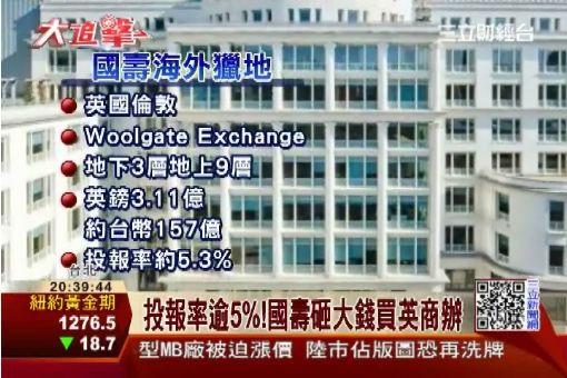 國壽157億買英商辦 再瞄準東京