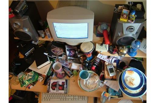 桌面示意圖/圖取自flicker