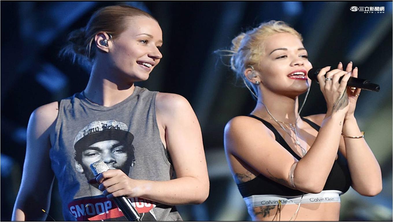 0823 MTV《美國音樂錄影帶大獎》Iggy Azalea (伊姬阿潔莉亞)and Rita Ora(瑞塔歐拉)兩人也將表演暢銷歌曲《BLACK WIDOW》