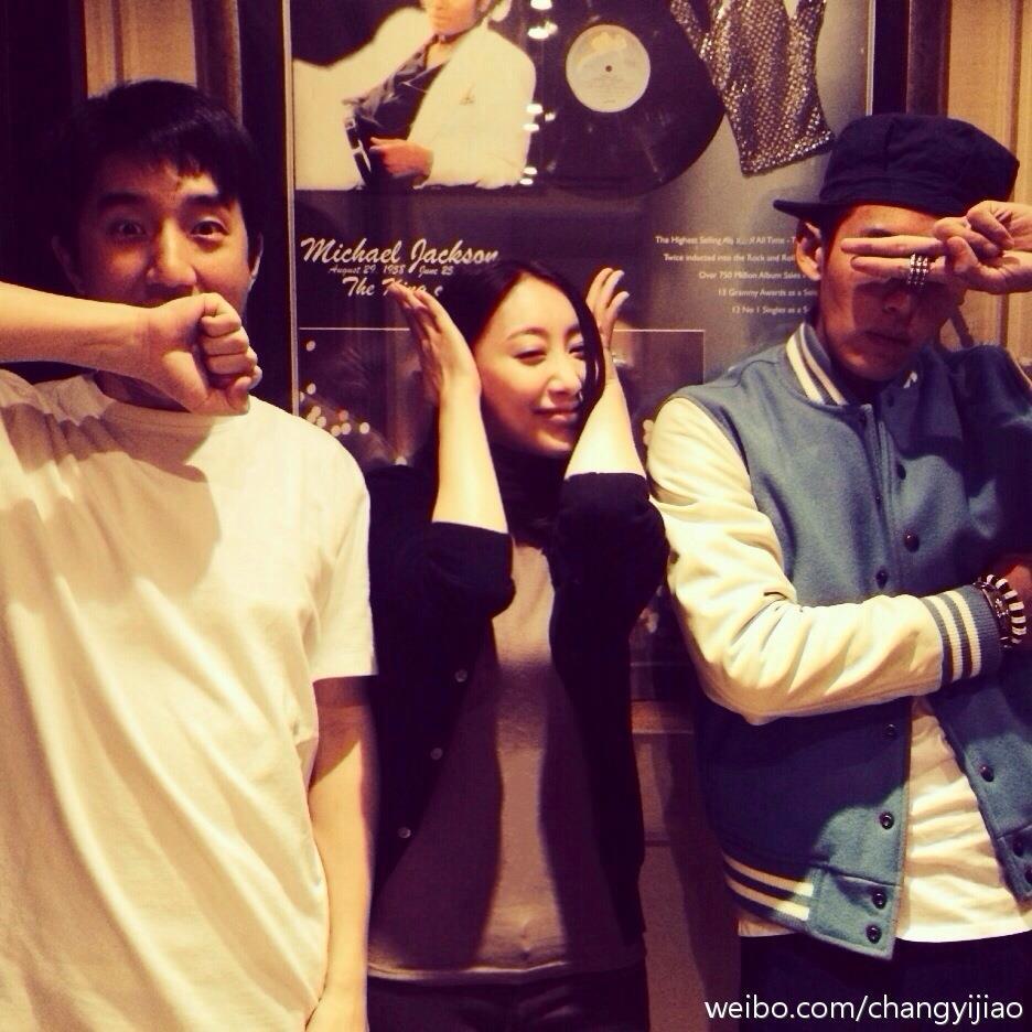 中國女星洛詩與Yijo/微博