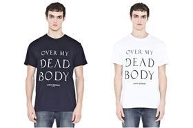over my dead body潮衣/擷取自cheap monday網站