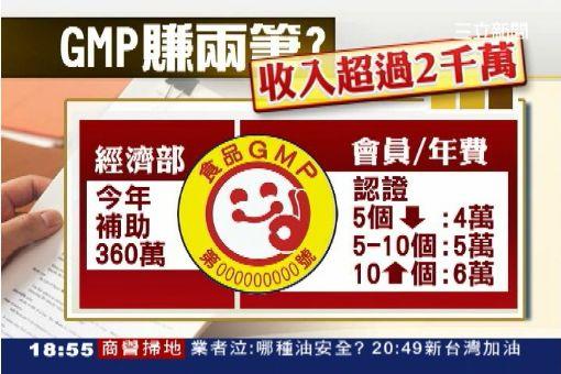"""獨/GMP爆官商勾結 學者""""理監事肥貓"""""""