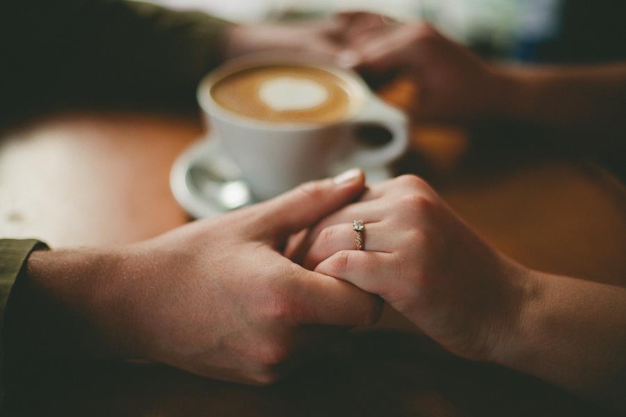 情侶喝咖啡(fliker/作者:wildorange55)