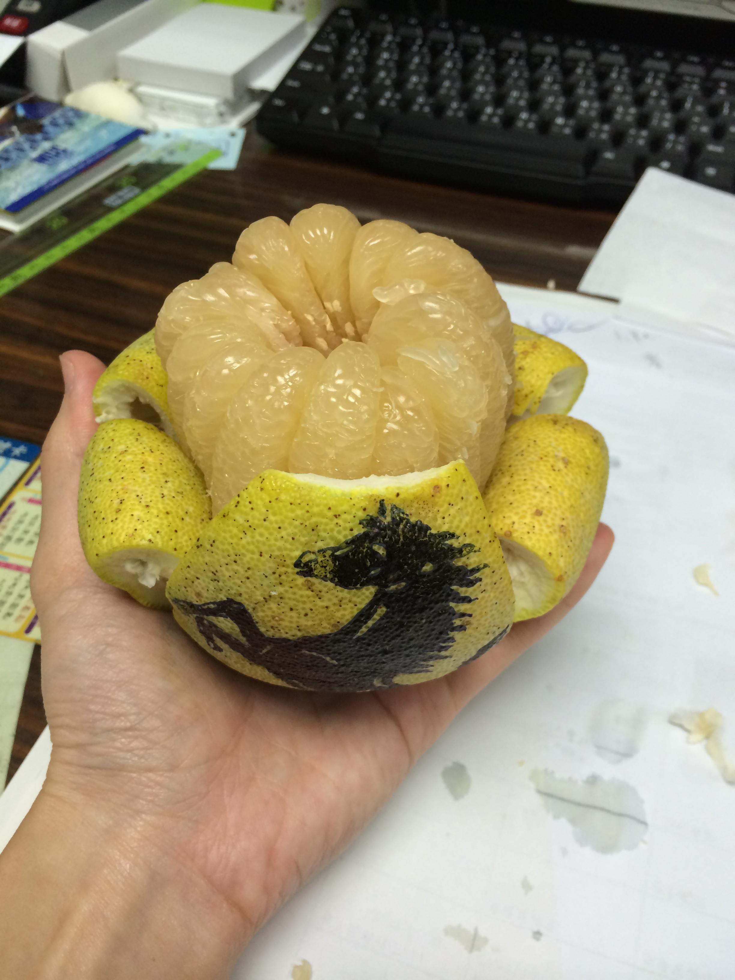 阿桑的柚子/ppt
