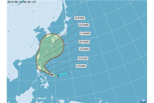 颱風、鳳凰-圖/中央氣象局