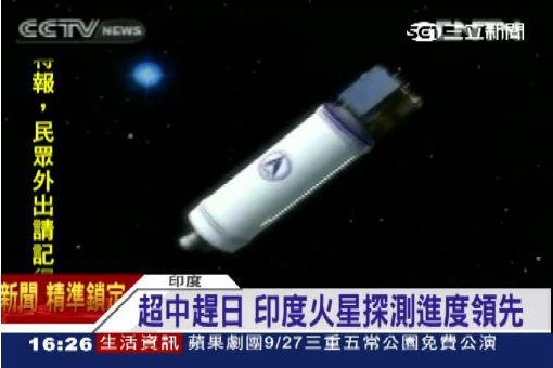 亞洲第一! 印度成功發射火星探測