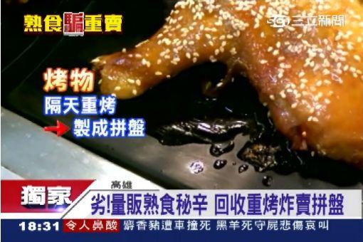 """量販熟食賣隔夜 賣相差""""煮大鍋菜"""""""