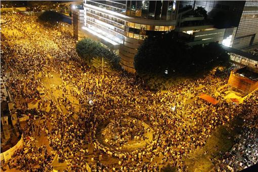 香港佔中(讓愛與和平佔領中環臉書)
