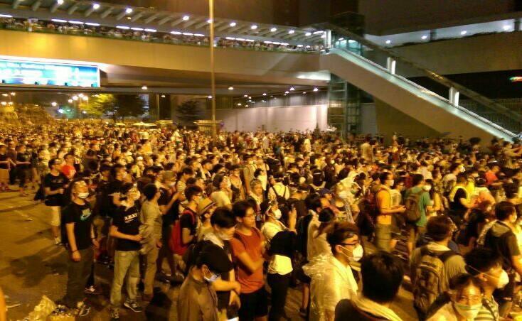香港佔中(讓愛與和平佔領中環 Occupy Central with Love and Peace FB)