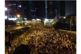 0929香港佔中現場_926政總現場消息發佈FB