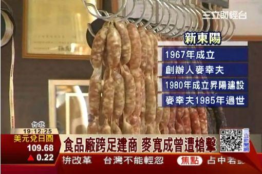 食品廠跨足建商 麥寬成曾遭槍擊