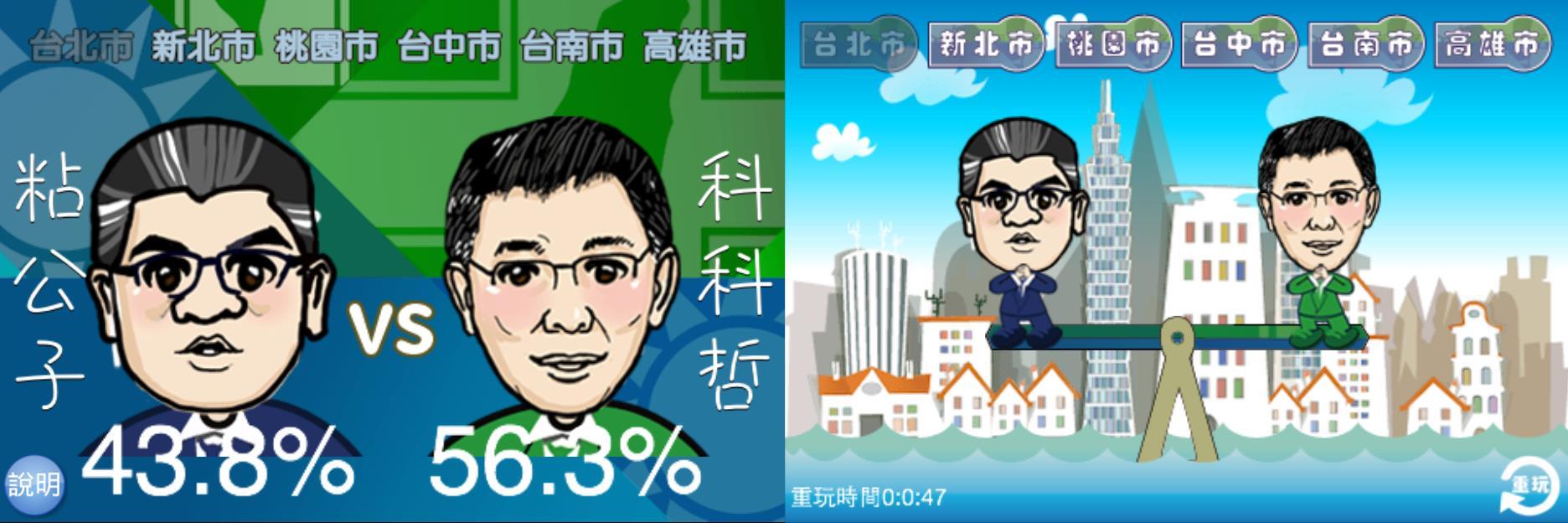 三立新聞網2014九合一大選專區