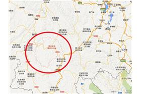 雲南,景谷(google地圖)