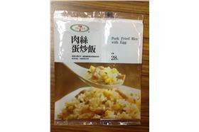 ▲7-11肉絲蛋炒飯使用正義香豬油製作,全面下架。(圖/北市衛生局提供)