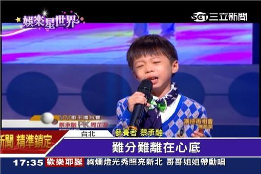 蔡承融,小歌王,超級紅人榜,詹雅雯,許常德