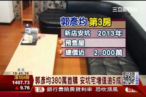 3千萬圓買屋夢! 郭彥均安坑擁3房