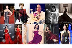 網路溫度計-紅毯女星臉書、微博